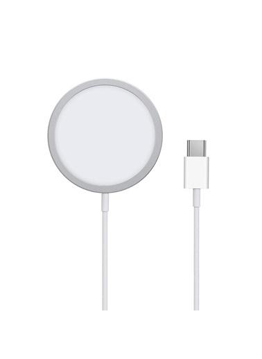 Microsonic Microsonic Apple iPhone Magsafe Şarj Cihazı/Adaptörü/Aygıtı Beyaz
